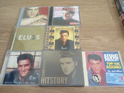 Elvis - Large Collection of Elvis Albums and DVD Boxset & Book