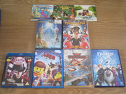 Collection of Children's DVDs (including Frozen & The Lego Movie)