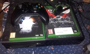 X Box One 500Gb with Fifa 16,  Halo 5,  Gears of War Ultimate Edition