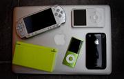 Nintendo Wii..........$155, Sony PSP Value Pack...$100